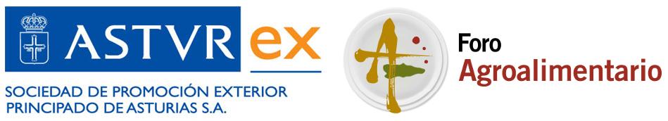 Logos ASTUREX y Foro Agroalimentario